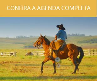Confira a agenda completa