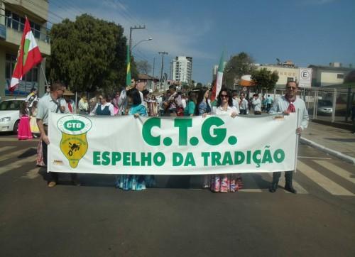 CTG ESPELHO DA TRADIÇÃO CONVIDA A TODOS PARA O DESFILE DE 07 DE SETEMBRO