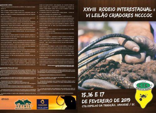 XXVIII RODEIO CRIOULO INTERESTADUAL