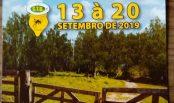 3ª Festa Campeira com Acampamento Farroupilha 13 à 20 de Setembro de 2019