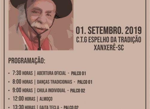 4ª ETAPA DO XV RFCG ( FESTIVAL DA CULTURA GAÚCHA) 01 DE SETEMBRO DE 2019