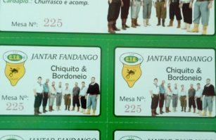 Jantar Fandango com o Chiquito e Bordoneio