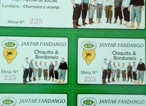 Jantar Fandango com Chiquito e Bordoneio
